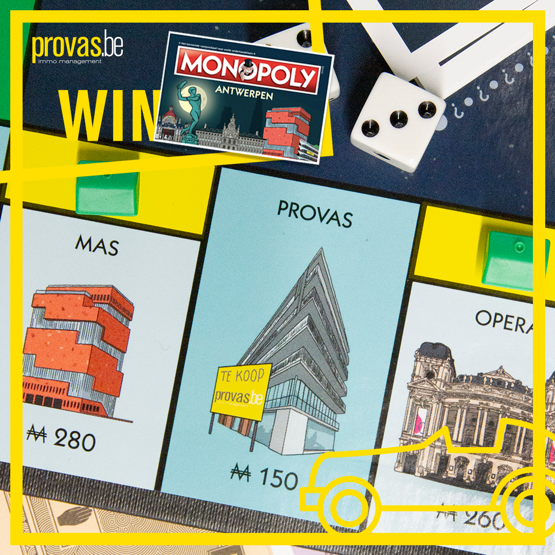 afbeelding PROVAS-WEDSTRIJD MONOPOLY-A'PEN LIMITED EDITION 2019