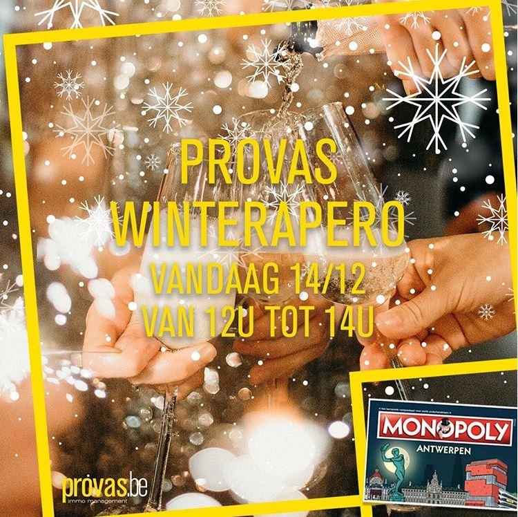 PROVAS-WINTERAPERO VOOR ALLE MONOPOLY-WINNAARS